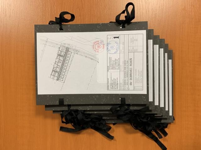 Projektová dokumentácia odovzdaná projekčnou kanceláriou v dohodnutom termíne